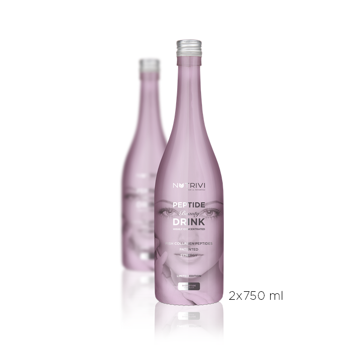 Nutrivi Peptide Beauty Drink 2 x 750 ml