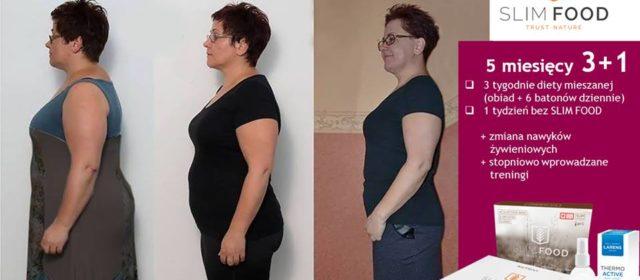 Efekt 5 miesięcznej kuracje ze SLIM FOOD