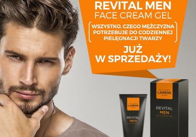 Revital Men Face Cream Gel – wszystko, czego mężczyzna potrzebuje do pielęgnacji skóry twarzy