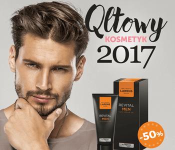 Revital Men – kultowym kosmetykiem dla mężczyzn 2017!