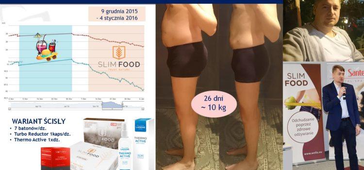 Slim Food + Turbo Reduktor + Larens = efekty
