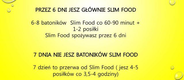 6 dni ze SLim Food