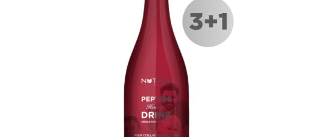 Nutrivi Peptide Holistic Drink 750 ml 3 + 1 GRATIS
