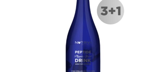 Nutrivi Peptide Physio Sport Drink 750 ml 3 + 1 GRATIS